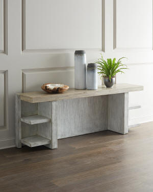 Hooker Furniture Lissardi Console Table with Shelves